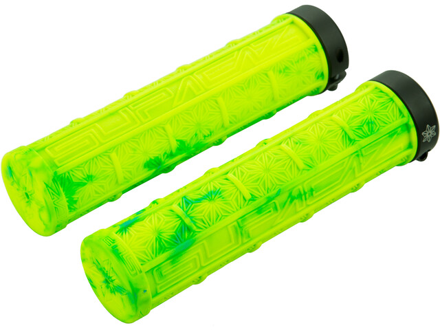 Supacaz Grizips MTB Griffe neon gelb/neon blau splash